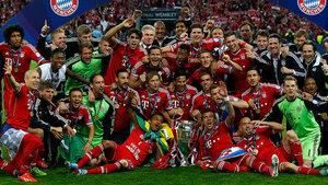 Бавария стала в пятый раз сильнейшей командой в Европе