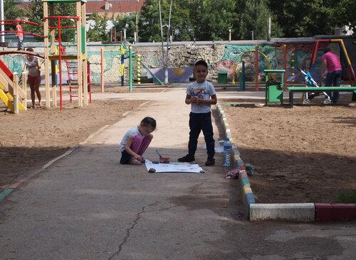 Пикет 27 июля 2013 года. Горпарк, Саратов.