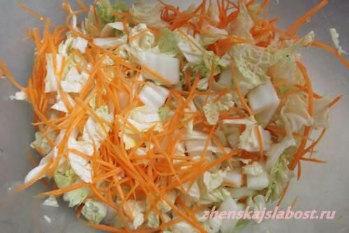 морковь для кимчи