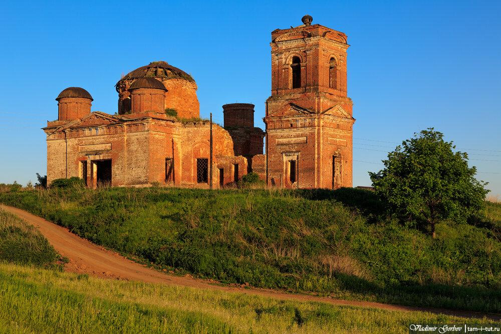 Шапши, церковь Казанской иконы Божией матери
