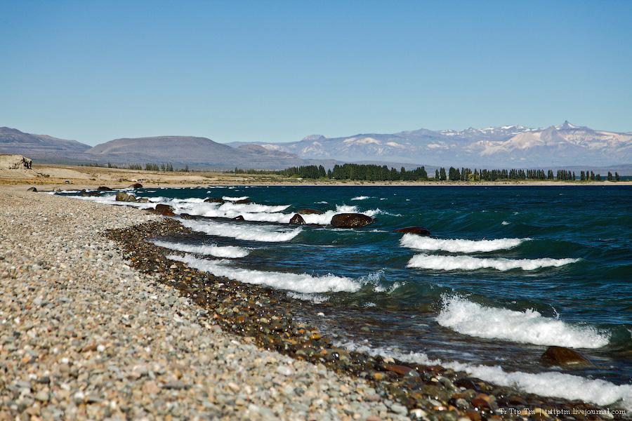 2. Лазурь и мрамор озера Буэнос Айрес - Хенераль Каррера.