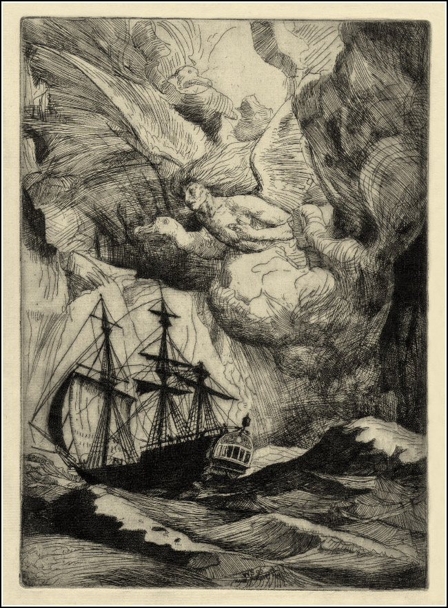 William Strang, The Ancient Mariner 10