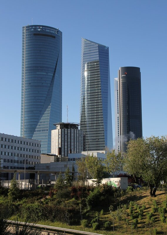 Cuatro Torres Business Area
