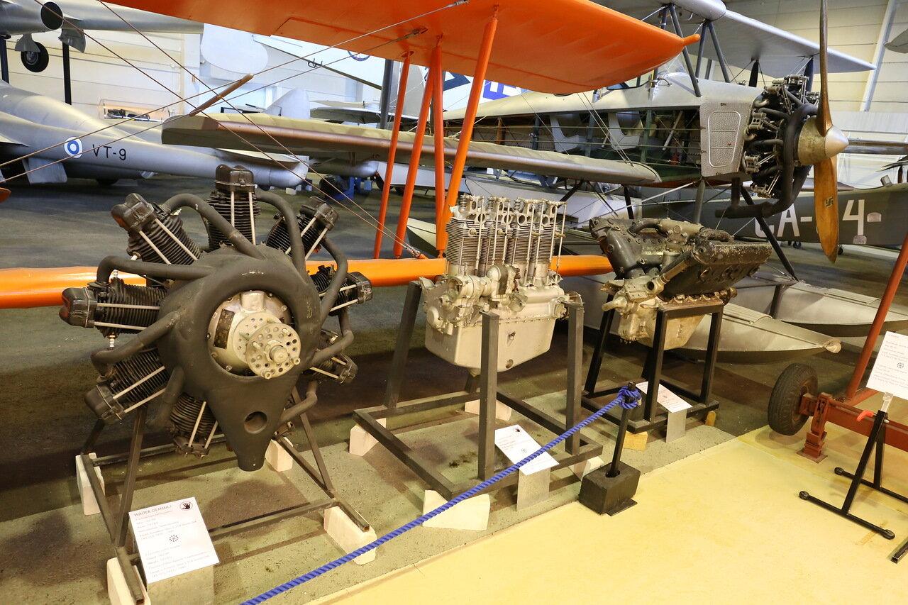 Walter NZ-120 engine. Finnish Aviation Museum (Vantaa)
