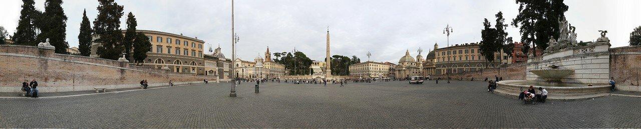 Рим. Площадь Пополо (Piazza del Popolo)