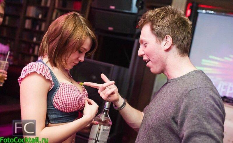 Странные люди в российских ночных клубах