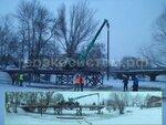 Мост на свайно-винтовом фундаменте в Переславле-Залесском
