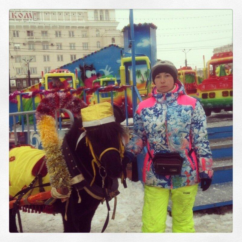 Жители ледяного городка-2014
