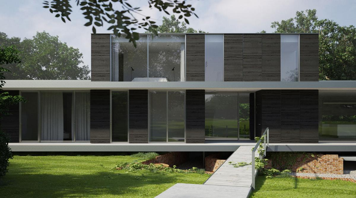 Питер Гатри, Peter Guthrie, Strom Architects, панорамные окна, частный дом в Англии, дома в Саффолке, частный дом с бассейном, стеклянная сдвижная дверь