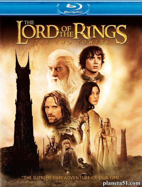 Властелин колец: Две крепости [Theatrical & Extended Edition] / The Lord of the Rings: The Two Towers (2002/HDRip)