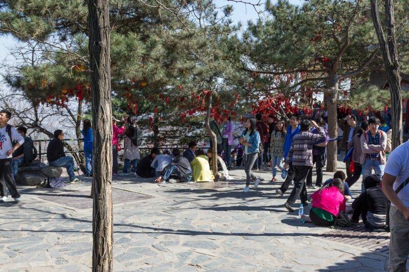 Пик Сянлу, парк Сяншань, Пекин