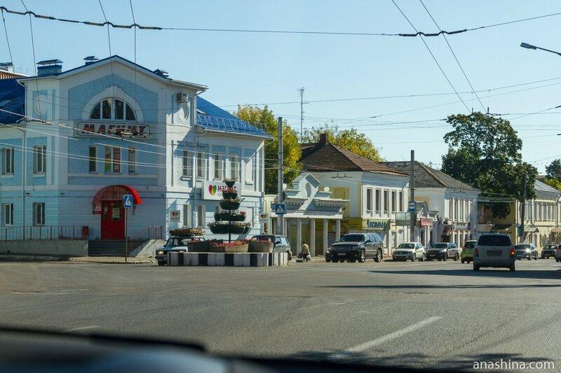 Одна из улиц Калуги