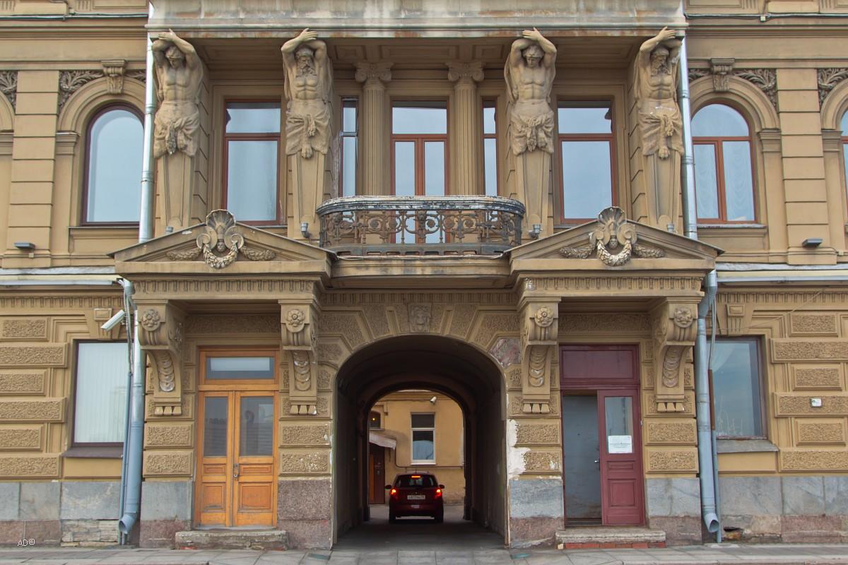 Особняк А. Задлера - Дом Д. Д. Орлова-Давыдова
