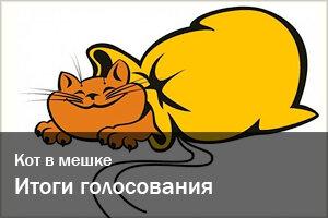 Кот в мешке | Итоги голосования