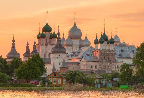 Ростов Великий, Вид на Кремль