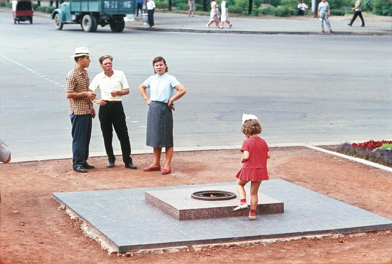 Минск. Вечный огонь
