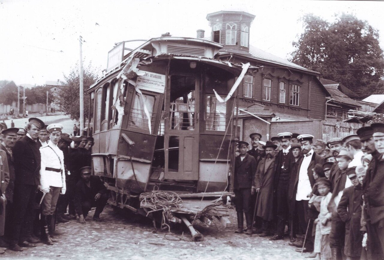 Авария трамвая