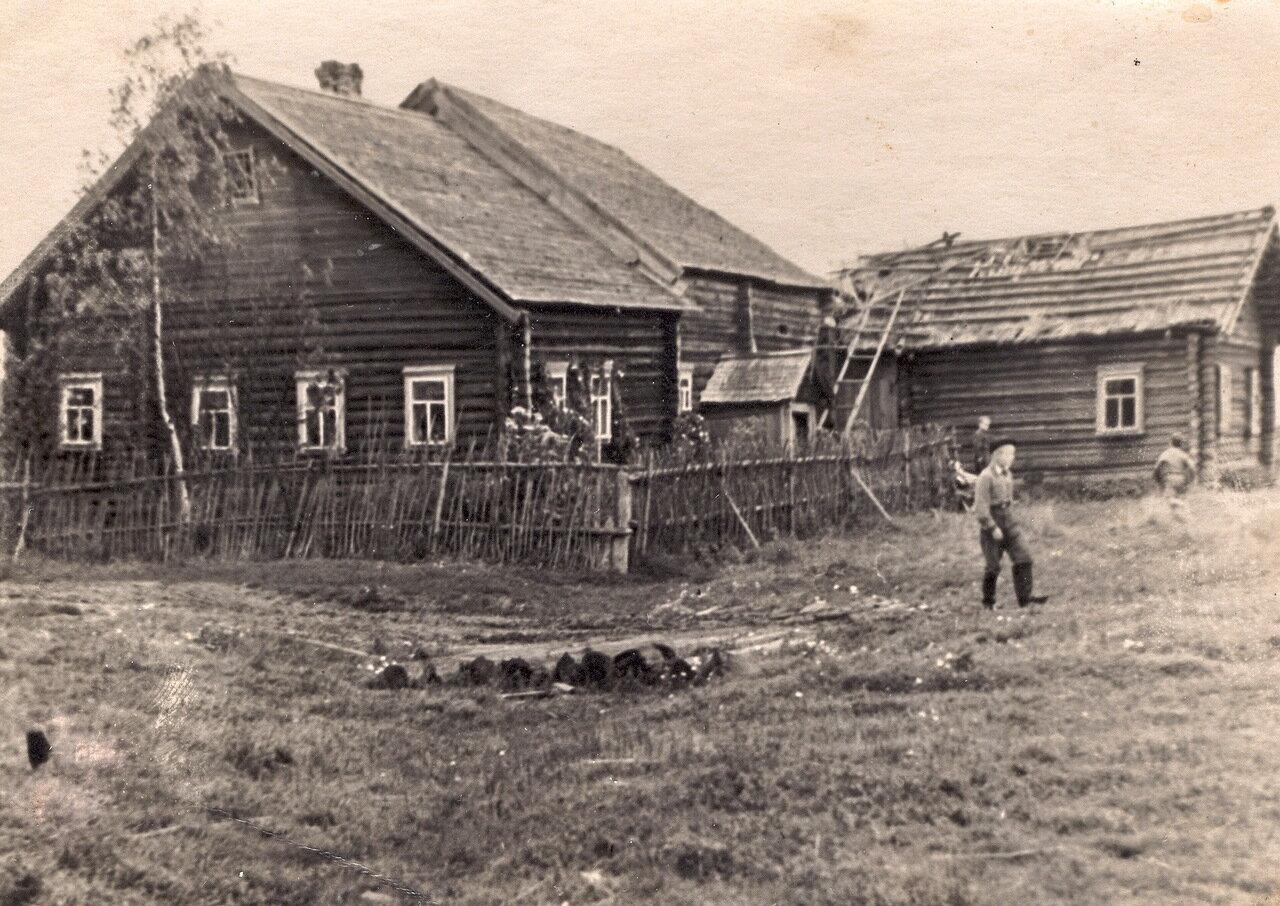 Деревня Лимоново Солигаличского района. 1957 год.