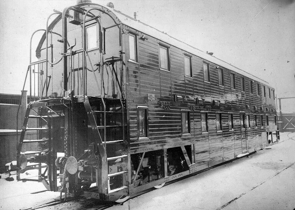 1900-е. Двухэтажный вагон (нач. 20в) Тверь