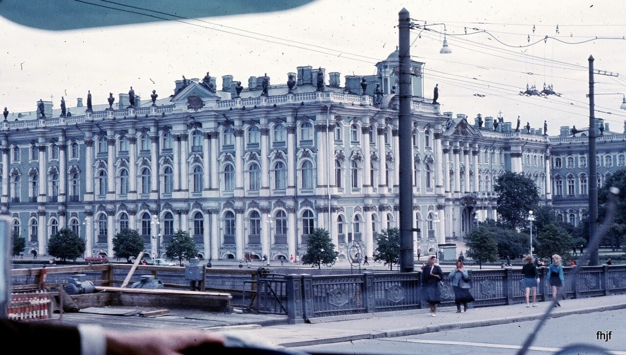 Hermitage from bus