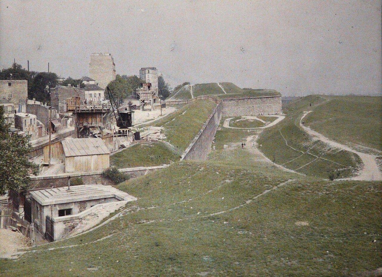 1914. Порт дю Пре-Сен-Жерве. Укрепления