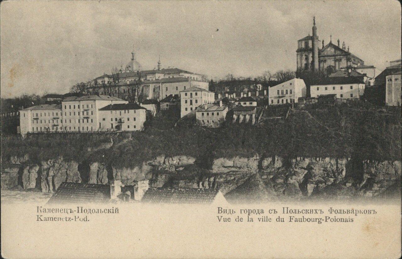 Вид города с Польских фольварков