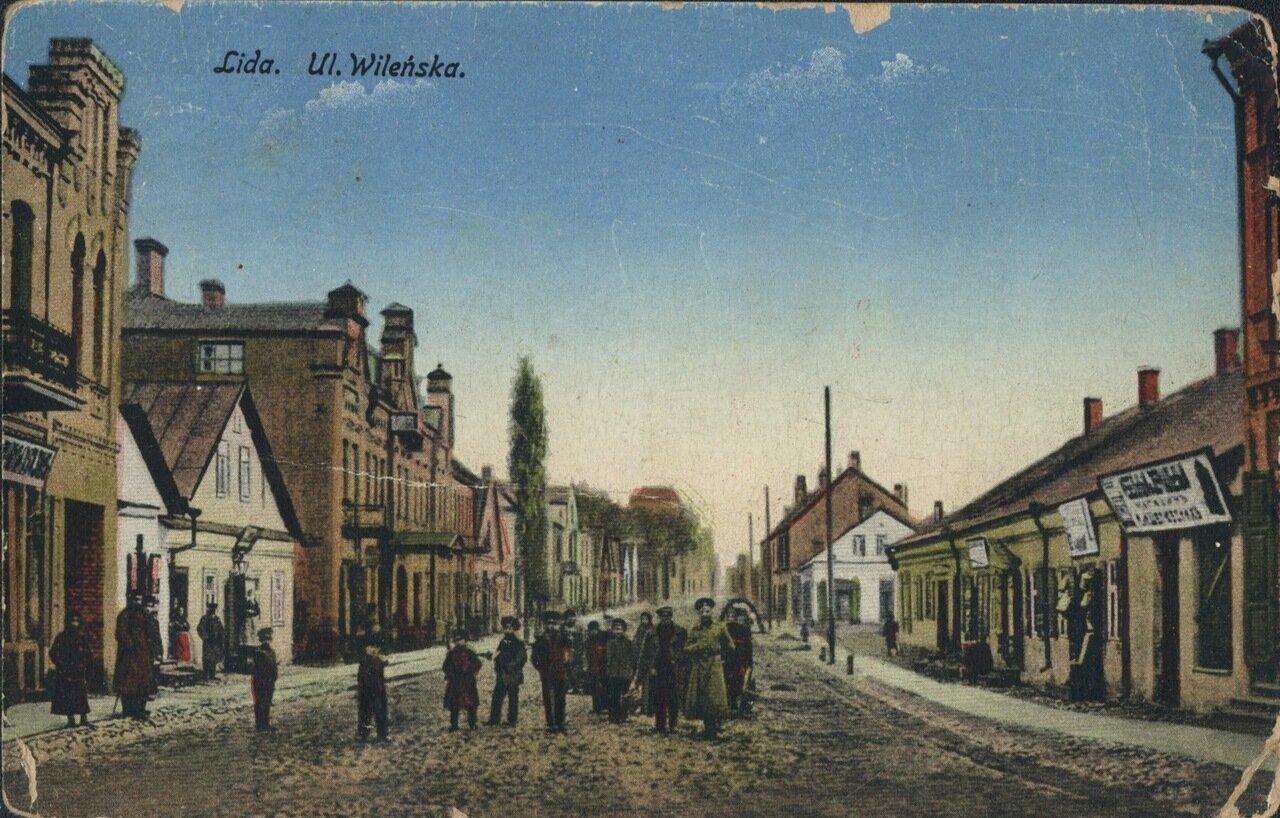 Веленская улица.