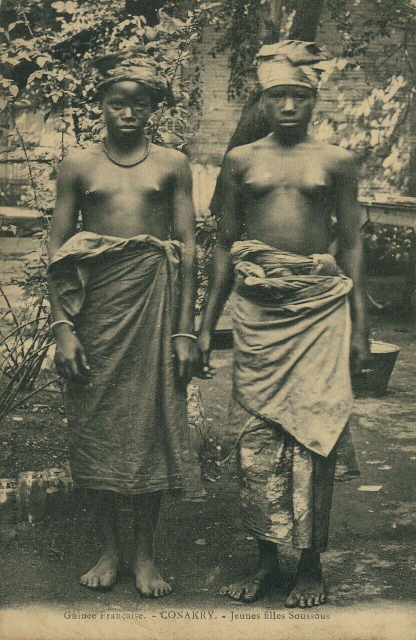 Французская Гвинея. Конакри. Женщины племени сусу