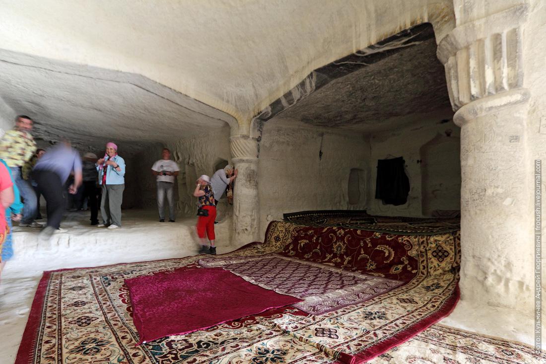 подземная мечеть Шакпак-Ата фото