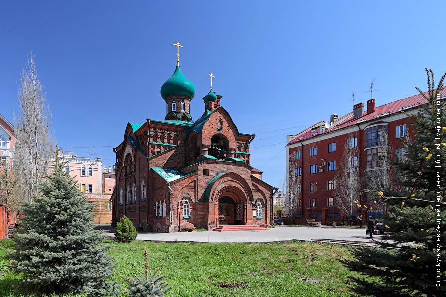 Старообрядческая церковь во имя Казанской иконы Богородицы в Казани
