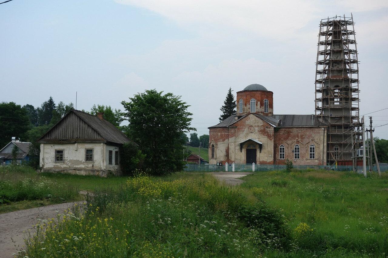 храм в селе Воротынск