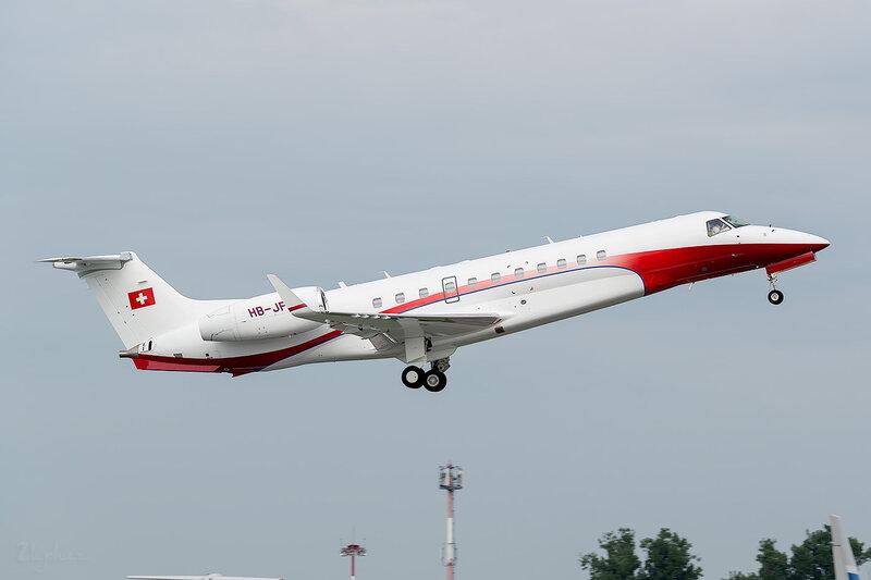 Embraer 135BJ (HB-JFL) Nomad Aviation D801372