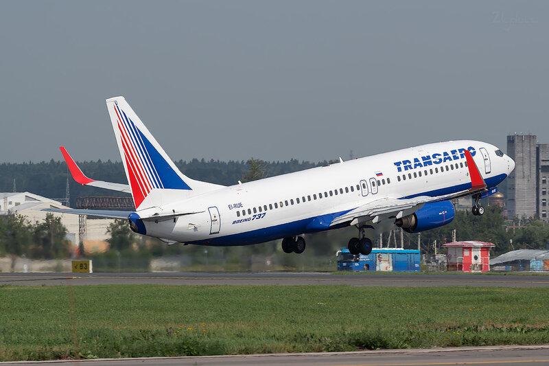 Boeing 737-85P (EI-RUE) Трансаэро D801434