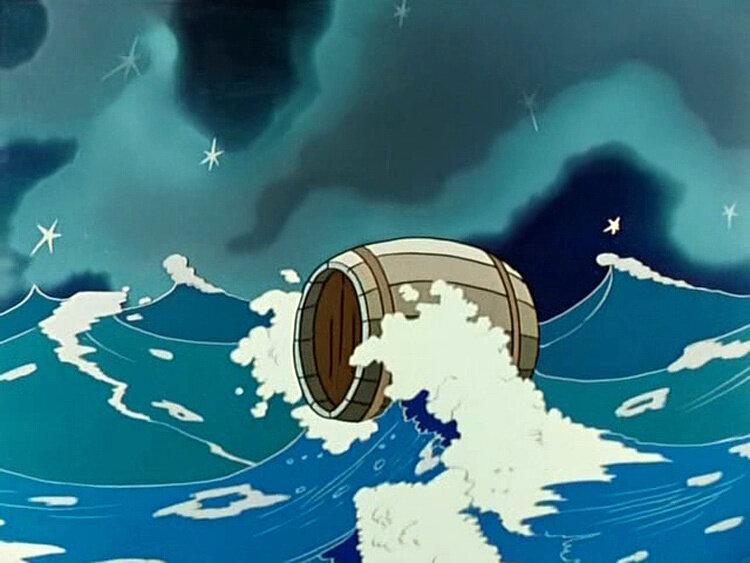 недалеко, картинки к сказке о царе салтане бочка по морю плывет океанариуме представили