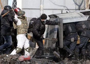 Украинские радикалы устроили провокацию на административной границе с Крымом