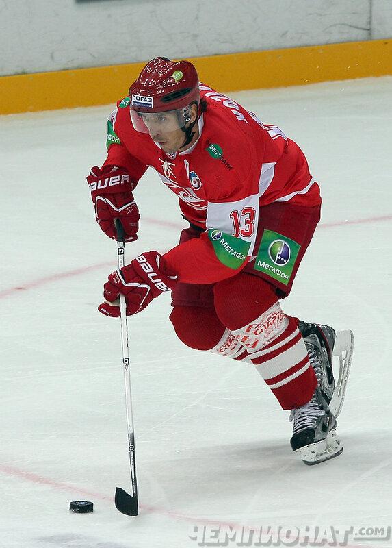 «Спартак» vs «Слован» 5:0 чемпионат КХЛ 2013-2014 (Фото)