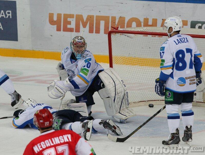 «Спартак» vs «Барыс» 3:4 чемпионат КХЛ 2013-2014 (Фото)