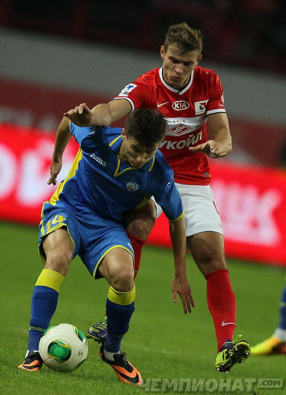 «Спартак» vs «Ростов» 2:0 Премьер-лига 2013-2014 (Фото)