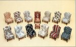 Кресло.Кукольная миниатюра.