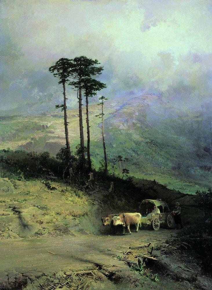 В Крымских горах. 1873.jpg