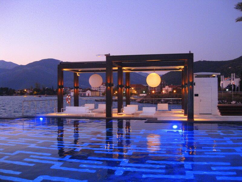 бассейн Lido Mar Porto Montenegro