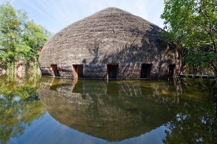 Бамбуковый дом - шатер