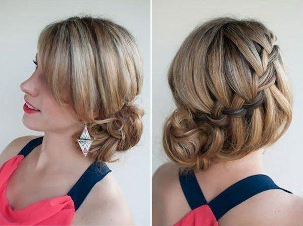 Волосы под названием водопад