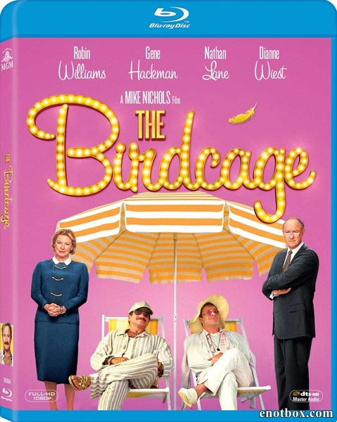 Клетка для пташек / The Birdcage (1996/BDRip/HDRip)
