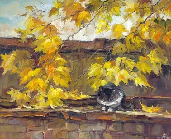 Анна Чарина. Осеняя крыша.jpg