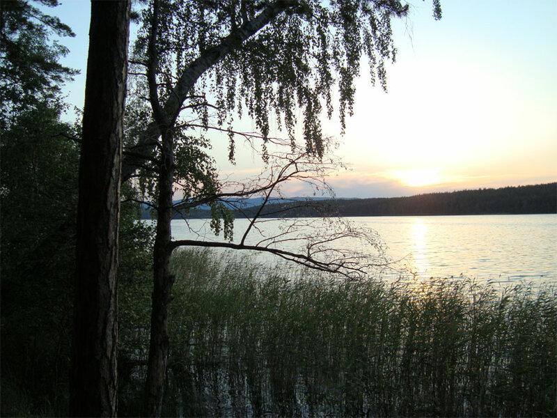 Рассвет на озере (15.05.2013)