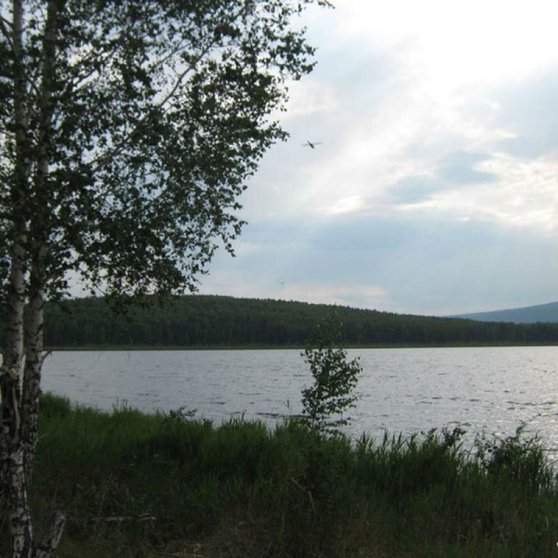 Удобный берег для отдыха в палатках (16.05.2013)