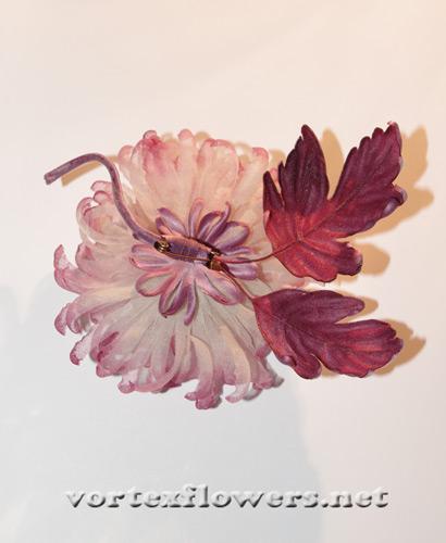 как сделать хризантему из шелка