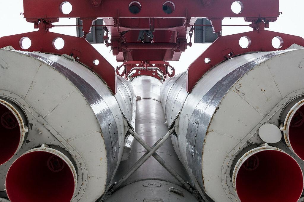ВДНХ. Макет ракеты-носителя «Восток»