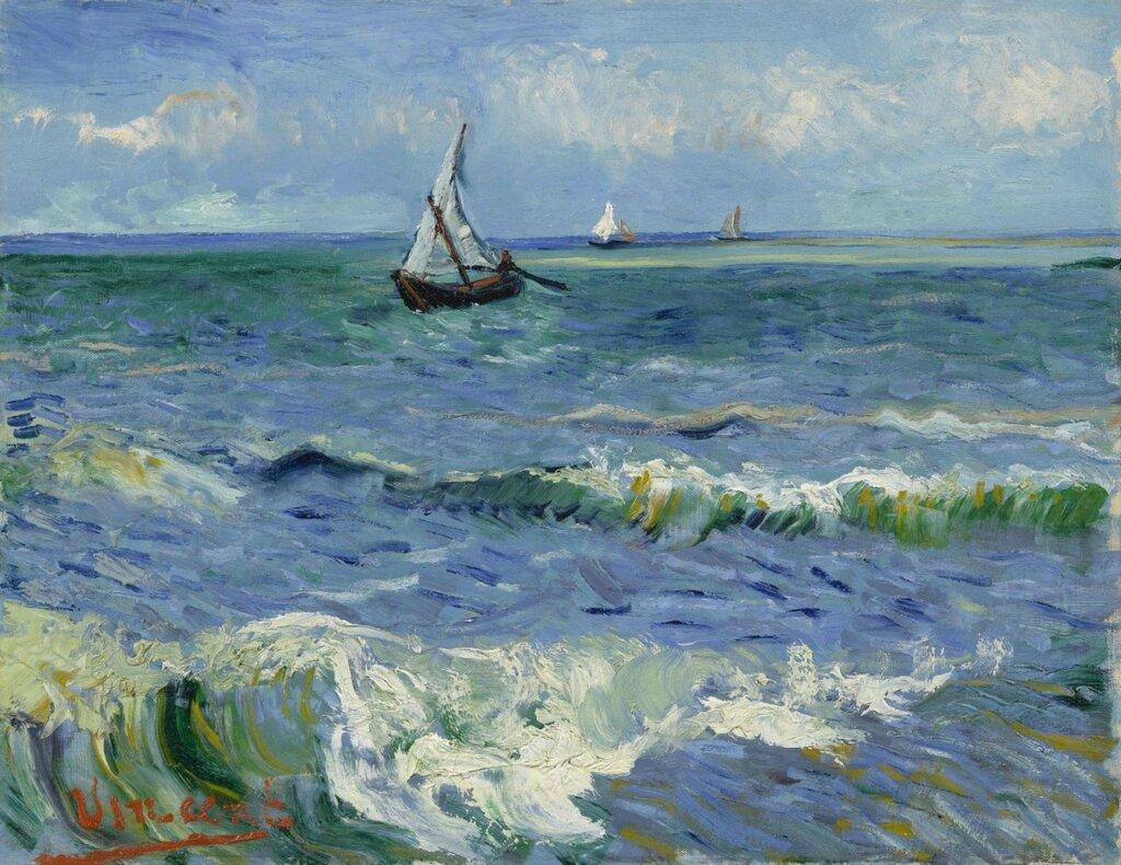 Ван Гог. Лодки.